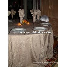 Классный тафта crinkle скатерть для banque и свадьба