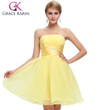 Grace Karin Wholesale Strapless Short Birthday Party Dresses CL4097-4