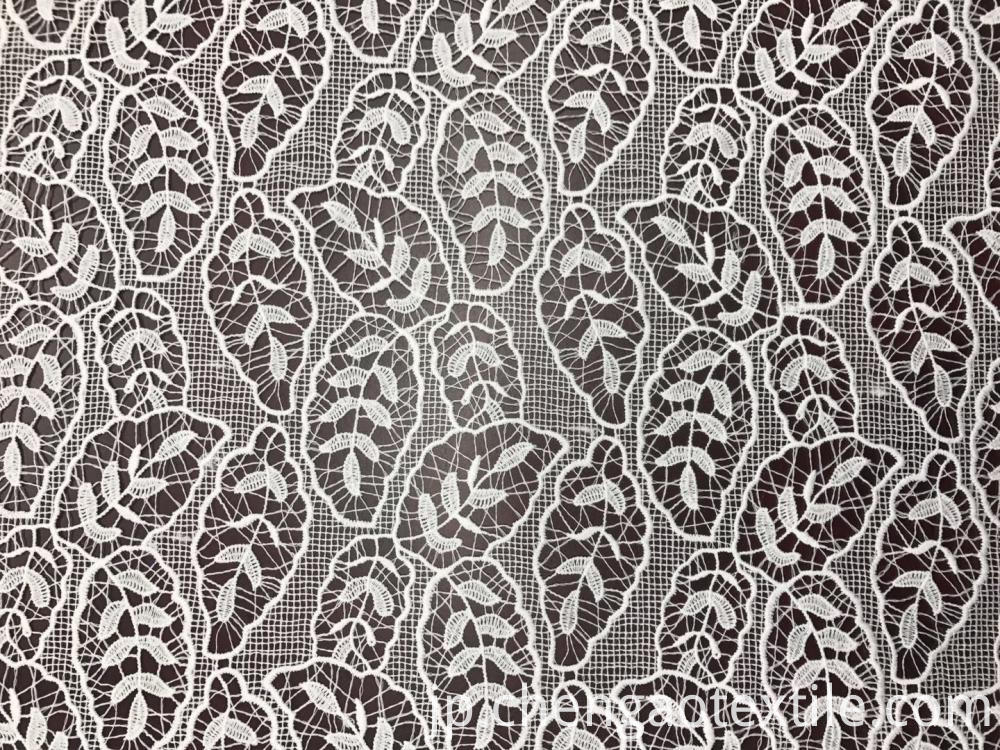 leaves chemical polyester embroider Fabric
