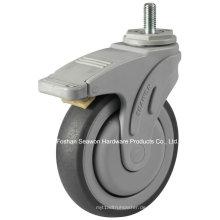 Schraube mit Bremstyp Kunststoff Medical TPR Caster