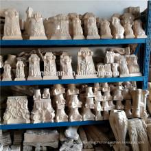 Cheminée Corbeau En Bois Décoratif Sculpté