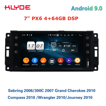 Autoradio Android universel 7 '' pour Jeep Chrysler