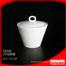 2015 the best selling products china fine ceramic sugar pot