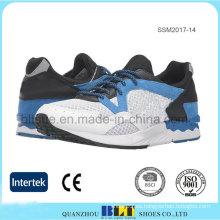 Zapato de correr con cordones superior de malla para hombre