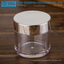 KJ-A80 80g uso amplio para cosméticos 80g borra todo pared gruesa cápsula tarro plástico