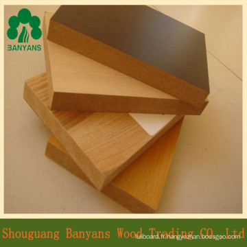 Melamine MDF for Furniture / Wholesale Melamine MDF Board Price