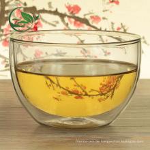 Gute Wärmeableitung Matcha Bowl Chawan Double Wall Glasschale