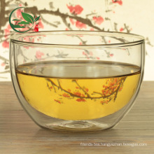 Good Heat Dissipation Matcha Bowl Chawan Double Wall Glass Bowl