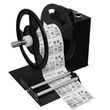 Aufwickeln der Etikettenpapierrolle Aufwickelmaschine mit Zähler