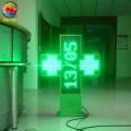 Hospital Drugstore Programmable Led Pharmacy Cross Sign