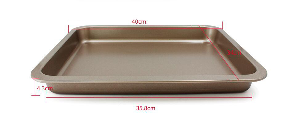 14' Rectangular Shallow Baking Pan