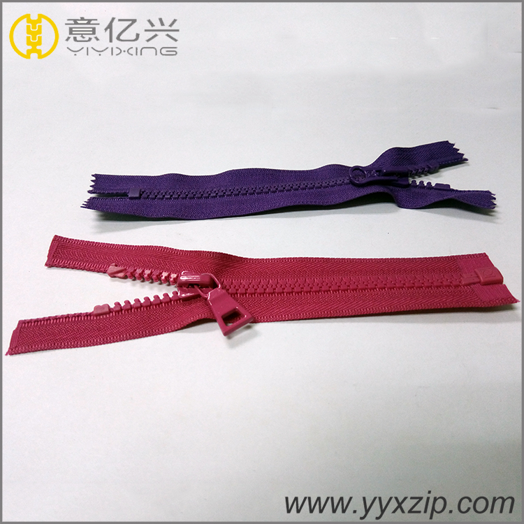 Plastic Zipper with Dynamic Teeth
