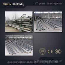 9m10m11m Plastiküberzogener Rost-Beweis-Stahl Pole für die Beleuchtung