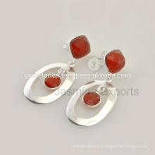 Модные Ювелирные Изделия Красный Оникс Драгоценных Камней Для Оптового Поставщика