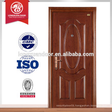 hot sales simple steel front main door with door handles