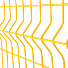 PVC Coated Panel Welded Wire Mesh Fence