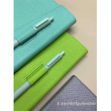 diario notebook materiale di copertura in pelle PU