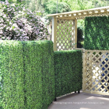 Hot products DIY decorative pvc coated fencing panels with planter