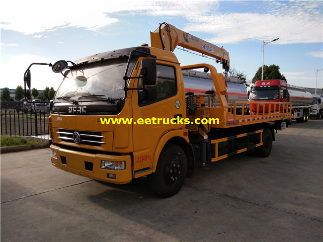 DONGFENG 4T Tow Trucks mounted Cranes
