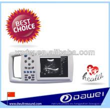 Ultrasonido veterinario de mano con dispositivo ultrasonido DW-600 de procesamiento de imágenes médicas