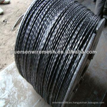 Q235 construcción de acero retorcido
