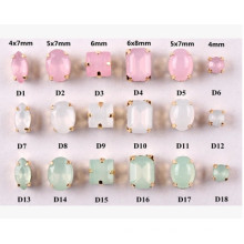 Opal Fancy Strass Beads Stones for Jewelry with Claw Settings
