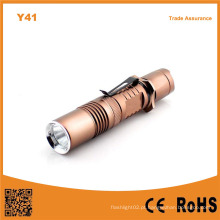 Y41 Xml T6 Lanterna LED de alumínio recarregável
