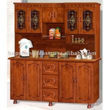 Gabinete de cocina de madera