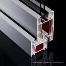Profilé PVC 60 mm pour fenêtres et portes uPVC
