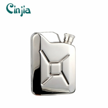 Stainless Steel Gift Embossing portable Wine Hip Flask