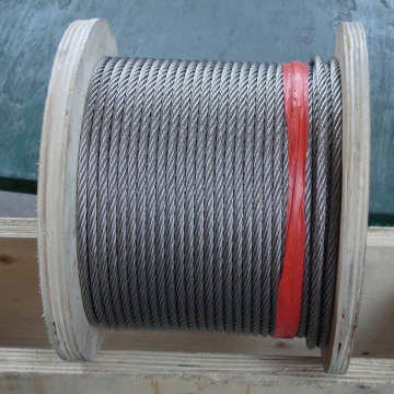 1X37 stainless steel cable marine/lifting/fence/railing