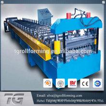 Machine universelle en tôle d'acier ondulé machine à onduler en aluminium