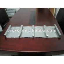 Cerrado con piso de acero galvanizado cubierta panel