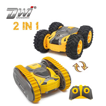 RC Car Mini Stunt Drift Buggy Car 2.4G Crawler Roll Radio Remote Control Car 360 Rotation Tumbling Vehicle Gift Toy