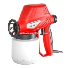 Portátil 130W profissional solenóide pintura Spray Gun Mini mão elétrica Pulverizador Spray GW8183