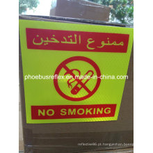 Etiqueta não fumadores