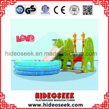 Indoor-Spiel Slide Swing mit Ball Pit für Kleinkind