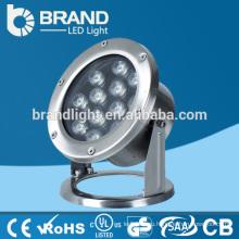 Подводный свет с высокой яркостью 12 Вт, подводный свет с беспроводным управлением