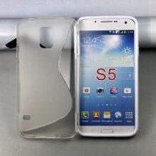 Samsung Galaxy S5 cubierta, caso de TPU para Samsung S5 S línea caso