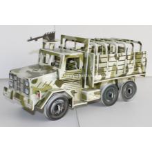 Военный грузовик 3D головоломки