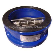 Клапан обратного клапана типа API 594 с двойным диском Class125 / 150