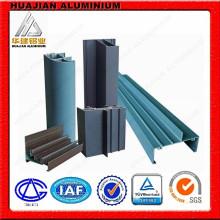 Profils d'extrusion d'aluminium en revêtement en poudre