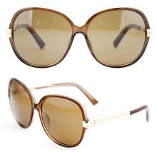 Золотые металлические моды ретро элегантные солнцезащитные очки для мужчин (14305)