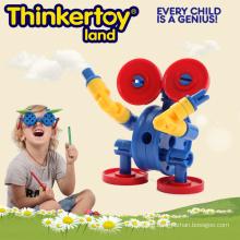 Mini Animal Promotion Gift Plastic Educational Robot Toy
