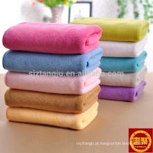 Conjunto de toalha de microfibra de alta absorção, toalha de mão, toalha de rosto