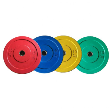 High Level Weightlifting LB/KG Competition Bumper Plates Rubber Weight Plates
