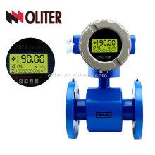 IP65 IP67 IP68 customerized 24VDC 220VAC 3.6VDC conducting liquid electromagnetic flow meter