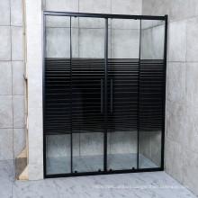 Glossy Double Sliding Shower Door Easy Install Design