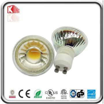 Glass 5W Dimmable GU10 LED Spot Light