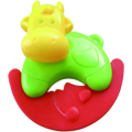 Safe Infant Musical Ring Spielzeug Kuhform Rassel